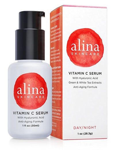 Alina Skin Care With Vitamin C and Hyaluronic Acid