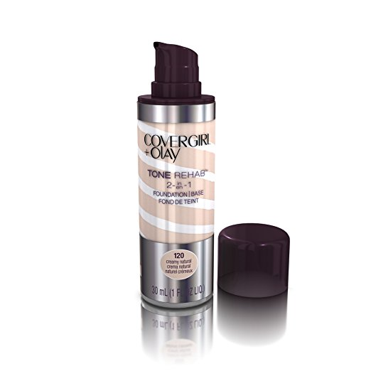 COVERGIRL and Olay Tonerehab 2-In-1 Foundation