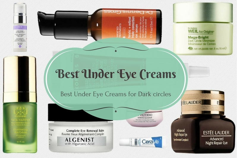 Best Under Eye Creams for Dark circles