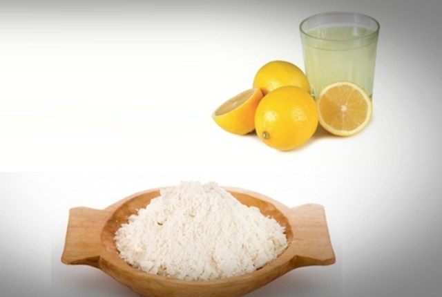 Rice Powder with Lemon Juice