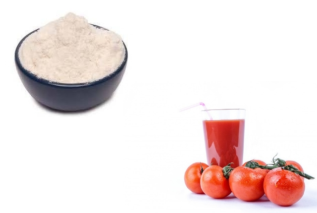 Rice Powder with Fuller's Earth and Tomato Juice
