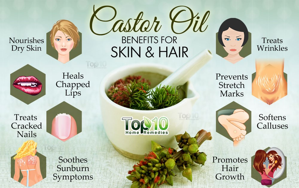Some Other Important Benefits of Castor Oil