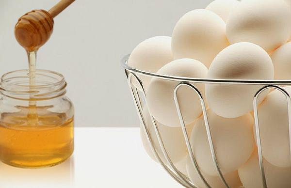 Rice Powder with Egg Whites