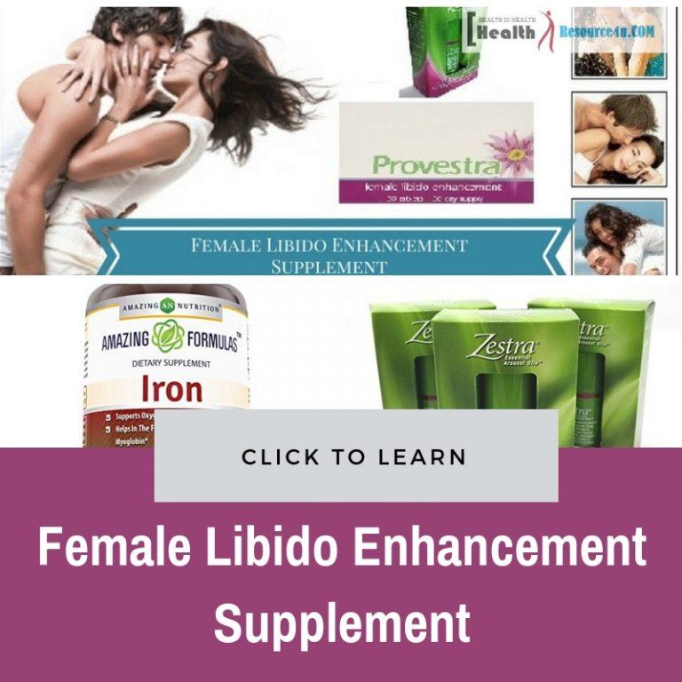 Female Libido Enhancement Supplement