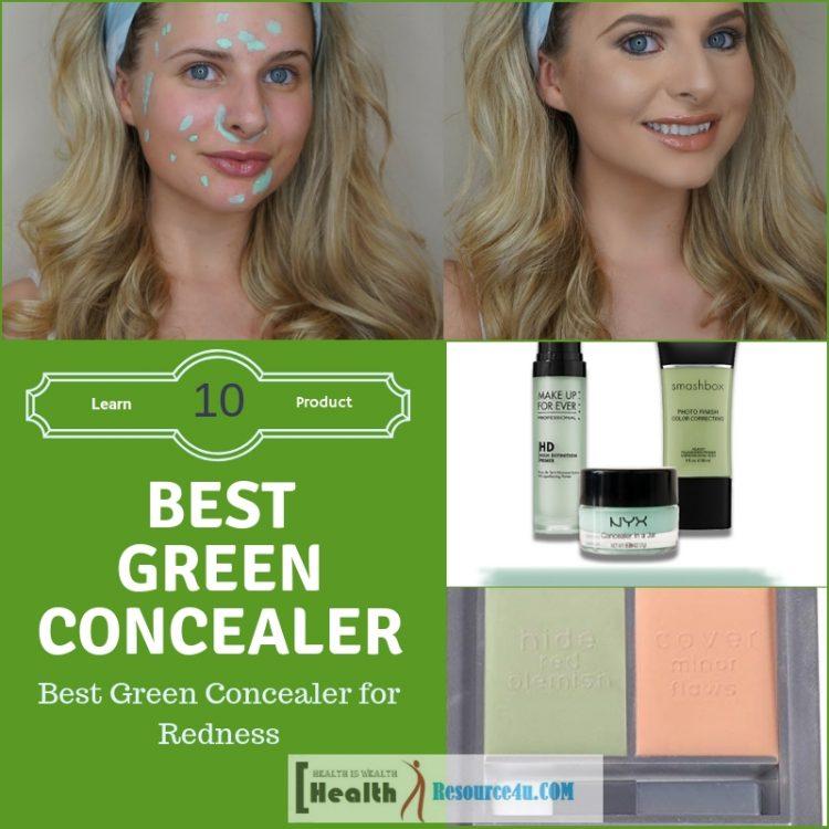 Best Green Concealer for Redness
