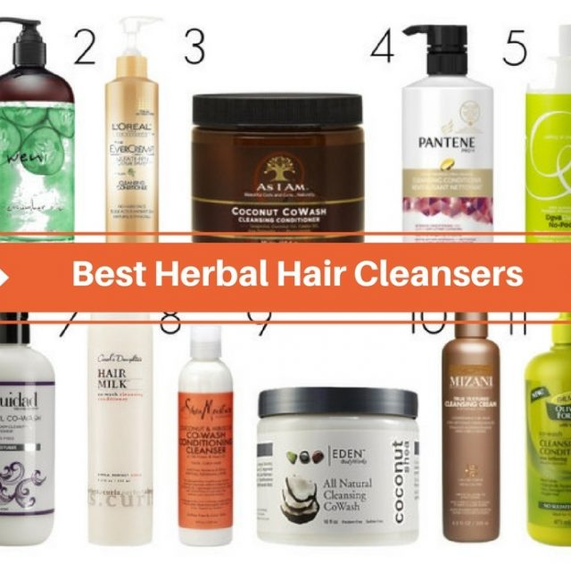 Best Herbal Hair Cleansers