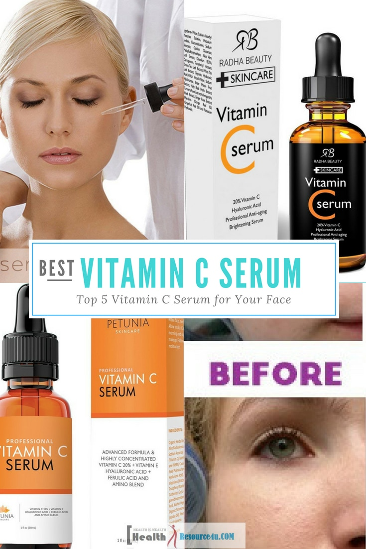 Best Vitamin C Serum for Your Face