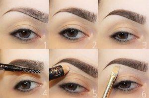 eyebrow makeup tips
