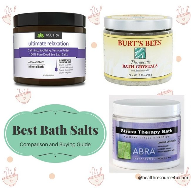 Best Bath Salts for the Summer