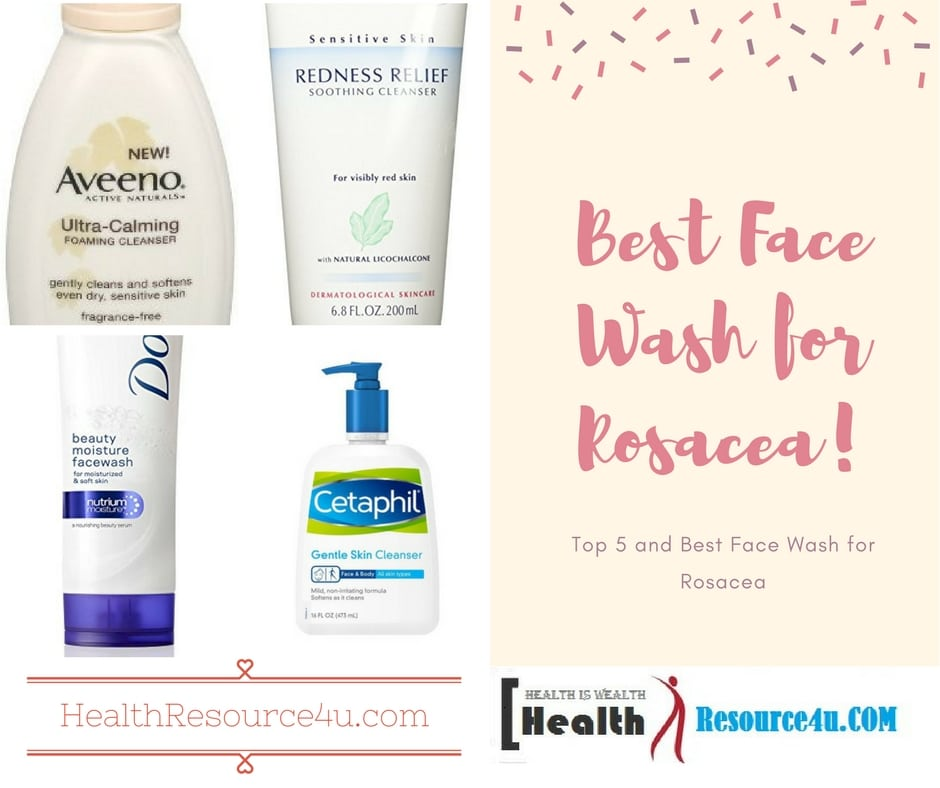Best Face Wash for Rosacea