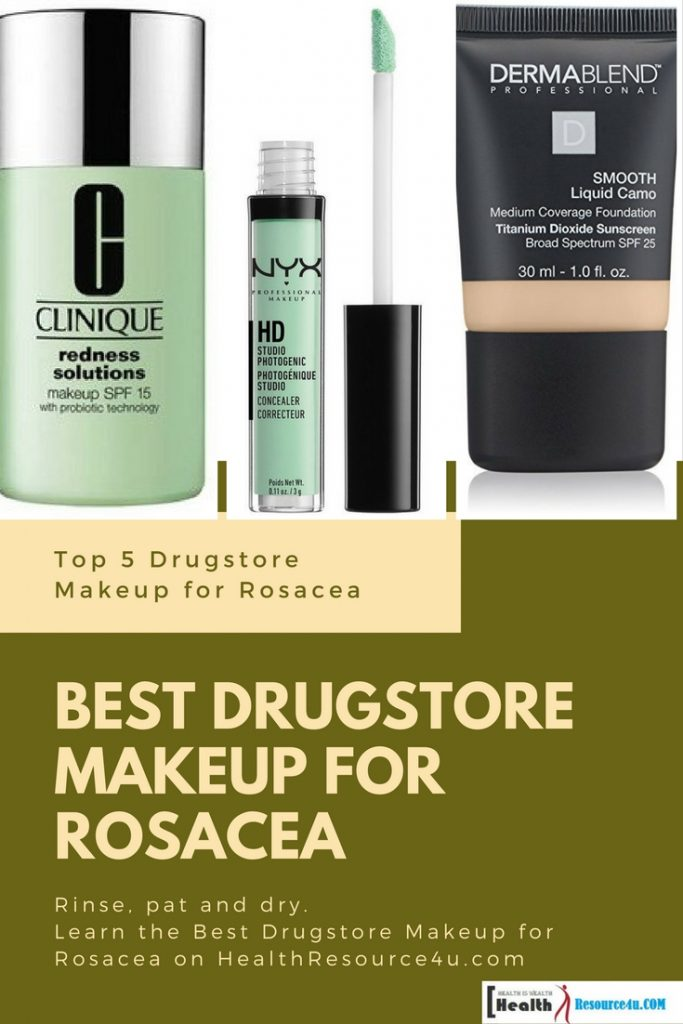 Best Drugstore Makeup for Rosacea