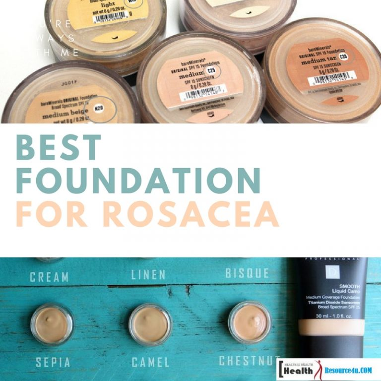 Best Foundation For Rosacea