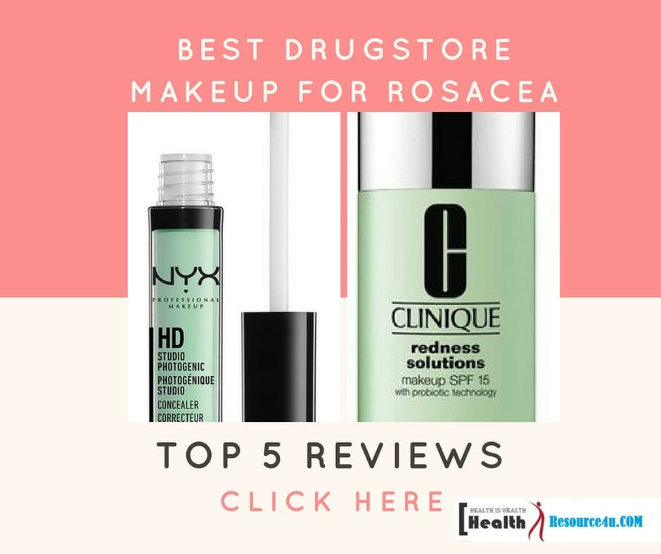 Top 5 Drugstore Makeup for Rosacea