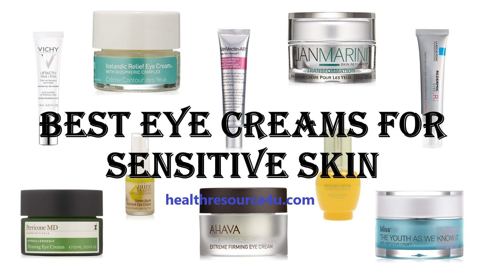best eye cream for dry sensitive skin