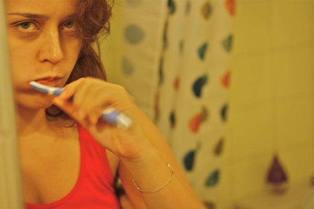 Proper oral care