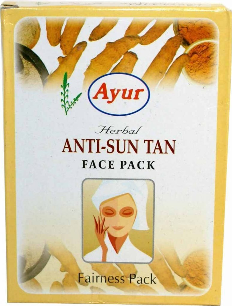 Ayur Herbal Anti-Suntan Face Pack