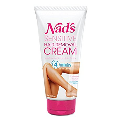 #5 Nad's Sensitive Hair Removal Cream