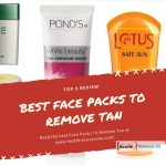 Best Face Packs to Remove Tan