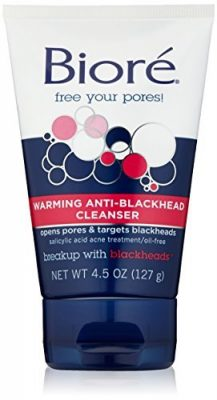Biore's Warming Anti-Blackhead Cleanser