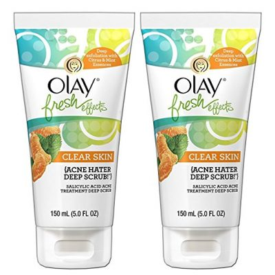 Olay Fresh-Effects Acne-Control Scrub