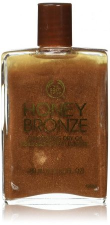 The Body Shop's Shimmering Dry Oil Honey