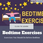 Exercises You Should Do Before Bedtime
