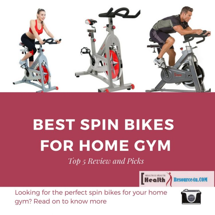 Best Spin Bikes for Home Gym