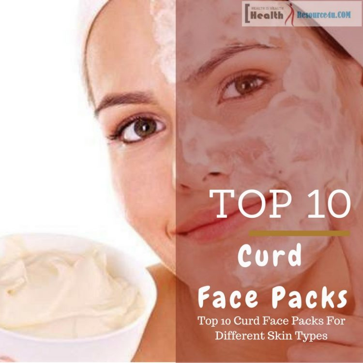 Top 10 Curd Face Packs For Different Skin Types
