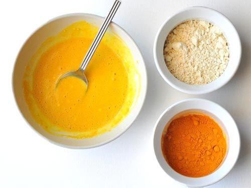 Besan, Turmeric and Lemon Paste