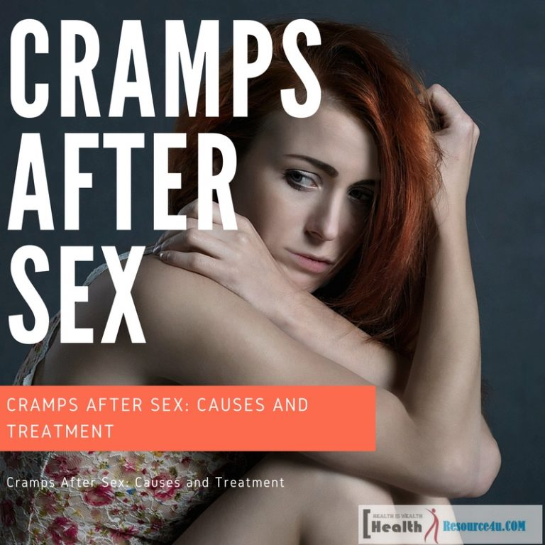 Cramps After Sex 1