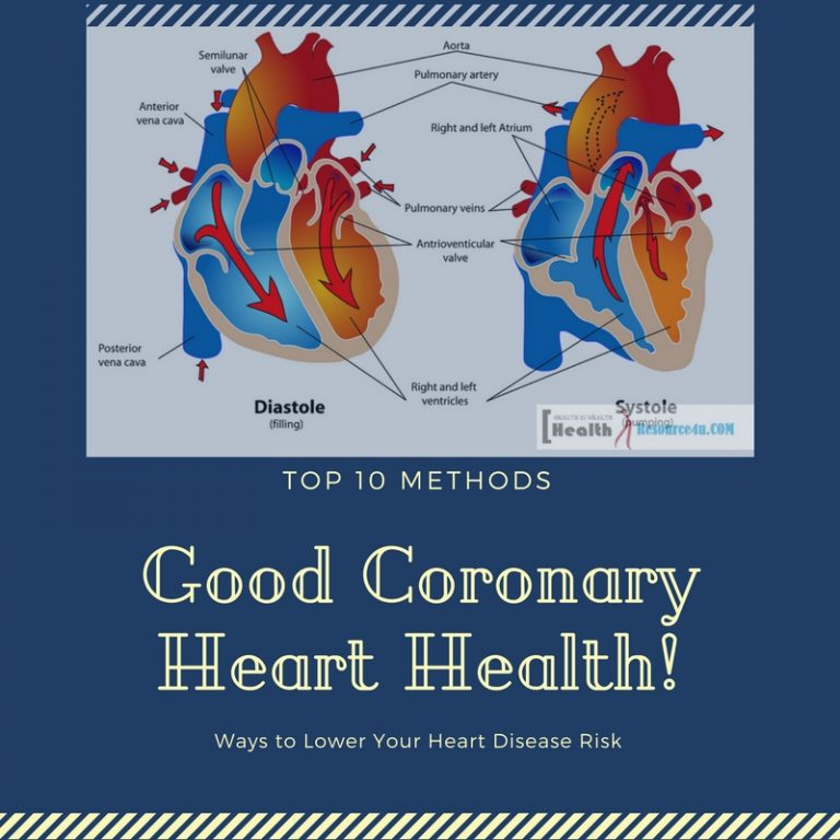 Lower Heart Disease Risk Good Coronary Heart Health
