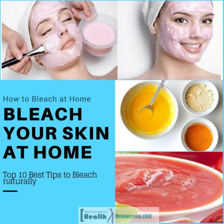 Best Tips To Bleach Your Skin Naturally At Home