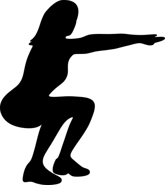 squat Intense Exercise
