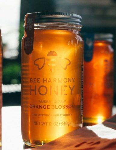 Bee Harmony American Raw Orange Blossom Honey