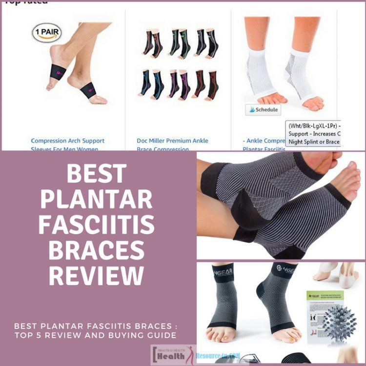 Best Plantar Fasciitis Braces Review