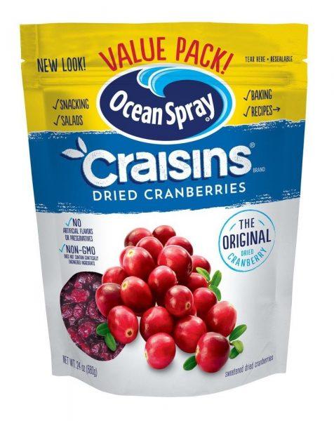 Spray Craisins Dried Cranberries