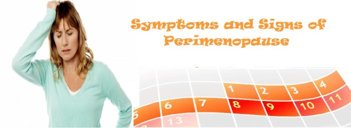 Symptoms and Signs of Perimenopause