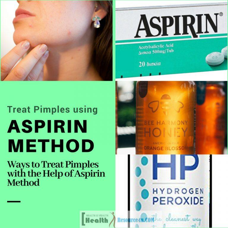 Ways to Treat Pimples Using Aspirin Method