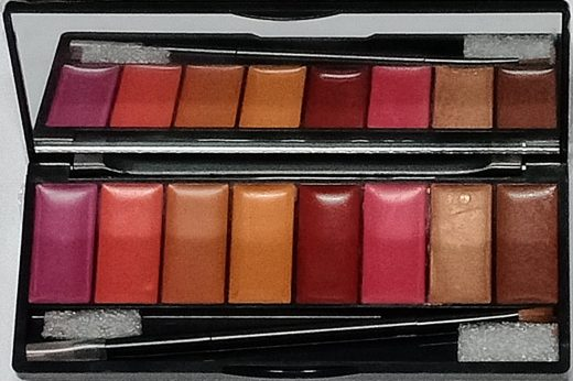 Insight Lip Color Palette