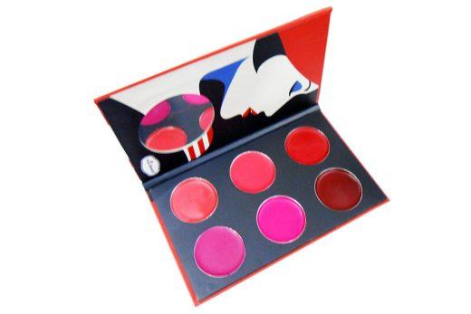 Kiss Beauty Lipgloss Lipstick Palette