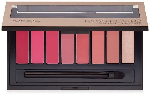 L'Oreal Paris Cosmetics Color Riche Lip La Palette Lipstick
