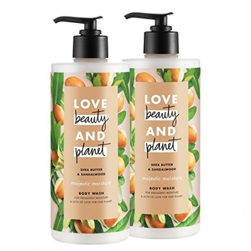 Love Beauty and Planet Majestic Moisture Body Wash, Shea Butter and Sandalwood