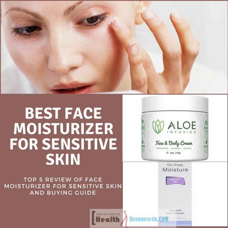 Best Face Moisturizer For Sensitive Skin