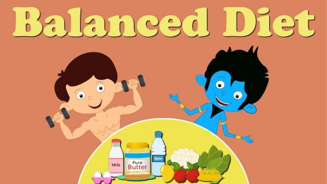 Diet and Exercises for kids