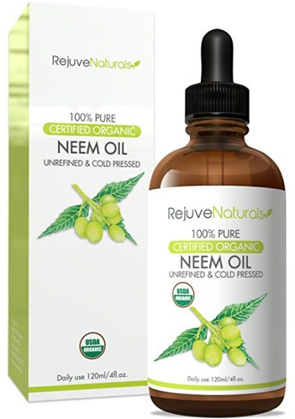 REJUVENATURALS Neem oil