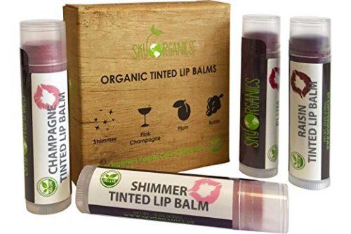 Organic Tinted Lip Balm by Sky Organics
