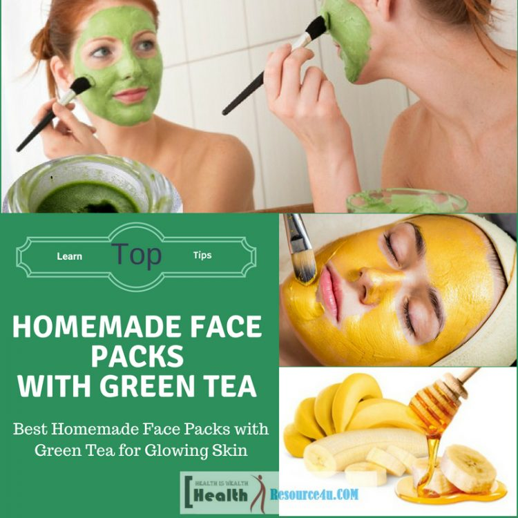 Best Homemade Face Packs with Green Tea
