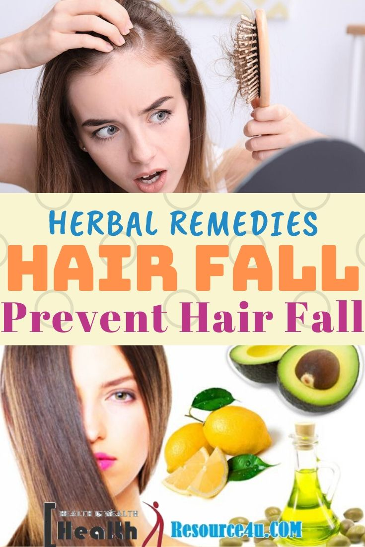 Herbal Remedies to Prevent Hair Fall
