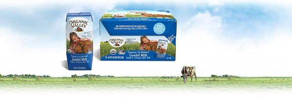 Organic Valley Low Fat Milk