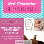 Third Trimester Pregnancy Checklist